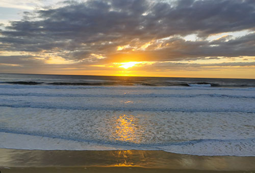 1-Coucher de soleil biscarrosse plage