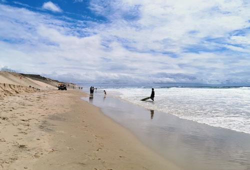 Surf baignade farniente plage