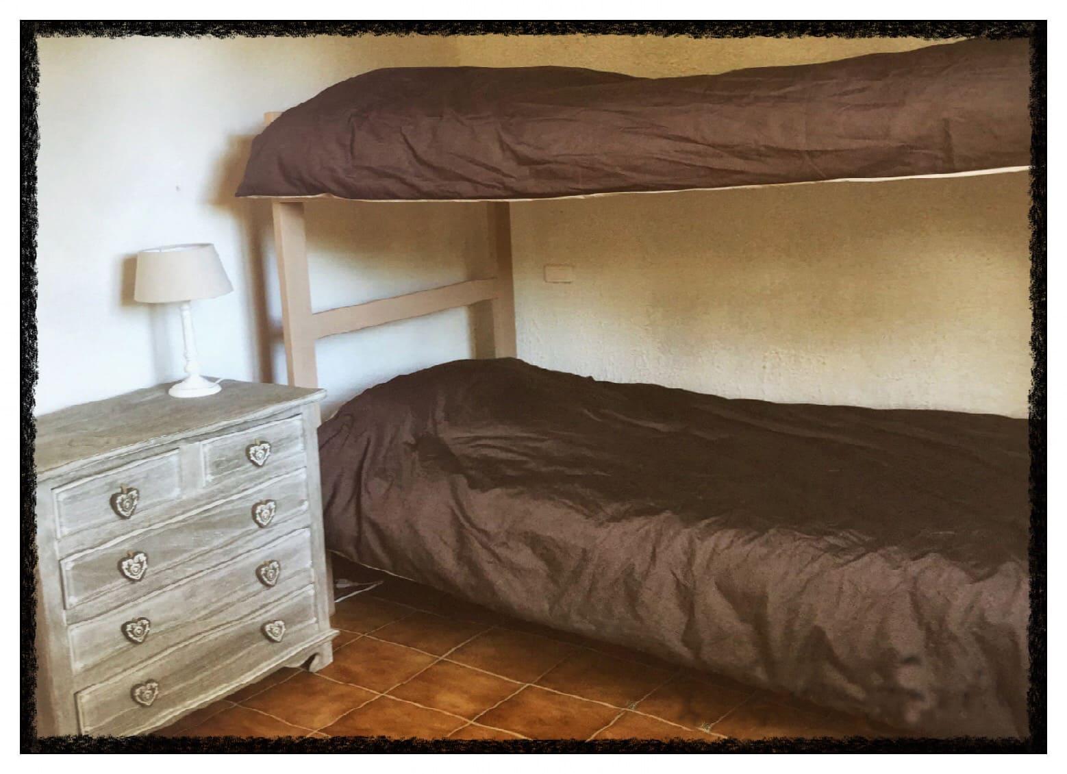 chambre double lit superposé